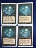 MTG xFOUR Revised Will-o'-The-Wisp R K MP 1994 English release