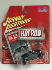 Johnny Lightning 1:64 Die cast Hot Rod Magazine '32 Ford High Boy in Black MOC