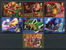 Alderney 2018 MNH Christmas A Christmas Carol Scrooge 7v Set Seasonal Stamps