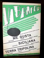 C234_Spartito ME GUSTA/SICILIANA/TERRA TRIPOLINA  per più strumenti- 1952