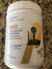 Shaklee Performance Build + Protein Grass Fed Whey Vanilla Powder Shake FreeShip