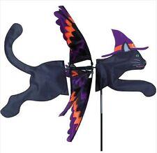 "30"" Halloween BLACK CAT Wind Spinner -- Yard Stake -- Garden Decor- #25327"