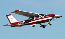 "CESSNA 177  ""CARDINAL""  67 INCH WING   RC AIrplane Rolled Plans"