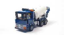 Lego Custom Cement Mixer Truck  City Town