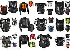 Fox Mega Brustpanzer Protektorenjacke Enduro MX Motocross Brustschutz
