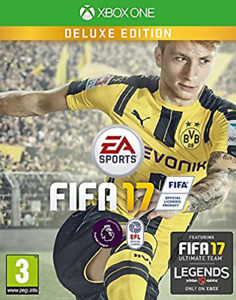 Microsoft Xbox One-FIFA 17 DELUXE EDITION GAME NEW