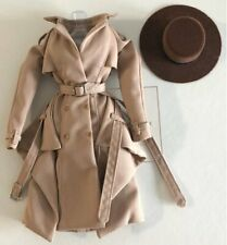 """TRENCH COAT AND HAT FROM SECRET GARDEN EUGENIA 12"""" LTD ED FASHION ROYALTY DOLL"""