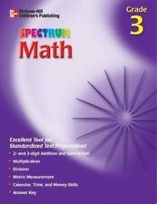 Starburst Spectrum Workbook: Spectrum Math, Grade 3 by Thomas Richards (2002, Pa