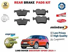 FOR LAND ROVER DISCOVERY SPORT 2.0 2.2D 2.0D 2014 >NEW REAR BRAKE PADS SET