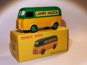 Van/Wagon Tolé D3A Lamp Mazda - Ref 25 B to the / Of 1/43 Of DINKY Toys Atlas
