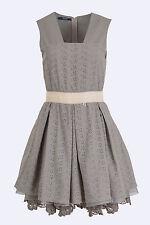 NWT ITALIAN DESIGNER Summer Dress Size M 10 Layered Lace rrp $224 SISTE'S