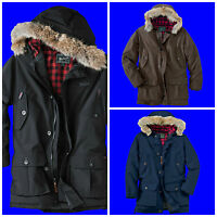 MENS WOOLRICH ARCTIC PARKA JACKET 550 FILL GOOSE DOWN COAT SIZE: XS S M L XL 2XL