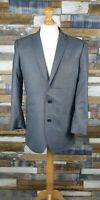Cedarwood State Grey Mens Blazer Jacket Size 40 L Slim Fit