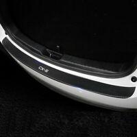 Car PU Rear Bumper Protector Plate Cover Trim For Mazada CX-5 CX 5 2017-2019