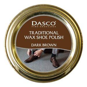 Dasco Traditional Wax Shoe Polish Boot Polish Dark Brown