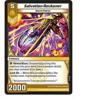 Kaijudo X3 SALVATION RECKONER Rare #21/160 15VTX (Playset) Vortex DUEL MASTERS