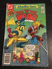 """Adventure Comics#480 Awesome Condition 7.5(1981) Dial""""H"""" For Hero!!"""