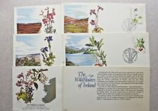 Ireland First Day Covers (Flowers) Lot of 5. See Details & Pics. Ships U.S. only