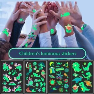 Luminous Stickers  Kid Toy Arm Leg for Children Glow Cartoon Dark Wall Stickers