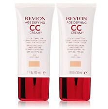 2 X Revlon Age Defying CC Cream Color Corrector  - 010 Light