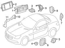 Mercedes Benz SL500; SL63 AMG; SL65 AMG Head Navigation COMAND DVD Control Radio