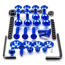 Pro-Bolt Aluminio Carenado Perno Kit-Azul FSU093B Suzuki GSX-R600 K6-K7 06-07