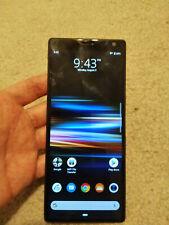 Sony I3223 Xperia 10 Plus - 64GB - Black (Unlocked) (Single SIM), very Good