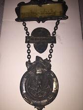 1908 So. Bethlehem, PA Volunteer Firemen's Association Convention Delegate Badge