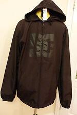 Bnwt DC Glacier Windbreaker Jacke. schwarz. Größe L