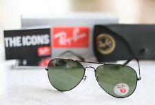Ray-Ban RB3025 002/58 Aviator Classic Black Sunglasses