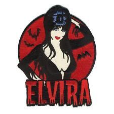 Elvira Iron On Patch Mistress of the Dark Vampire Horror Retro Rockabilly