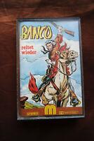 Banco reitet wieder - Delta Music Western Hörspiel MC Kassette