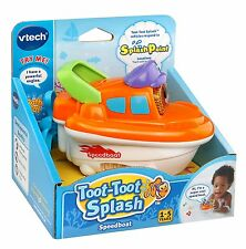 Vtech Baby Toot Toot Splash World Speed Boat Ages 2+ New Toy Water Play Boys Fun