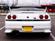 Carbon Fiber Spoiler Wing Blade For Nissan Skyline R33 GTR AS Style Shibi Devil