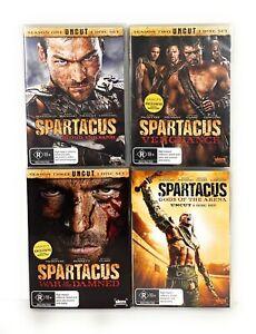 Spartacus - Season 1-3 & Gods of the Arena DVD Region 4 Free Postage