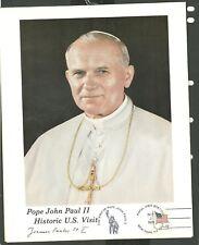 2 Pope John Paul II Historic U.S. Visits Pictures Prints