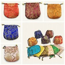 """10PCS Wholesale Chinese Classic Handmade Silk Brocade Gift Jewelry Bags Pouch 4"""""""