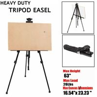 Adjustable Tripod Painting Artist Easel Display Painters Stand Board Art Sketch