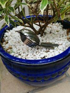 Cutlery bird handmade from stainless steel cutlery sculpture art