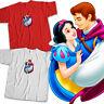 Snow White and Seven Dwarfs Prince True Love Disney Princess Unisex Tee T-Shirt