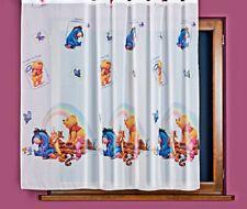 Rideau / voilage , chambre  enfant , WINNIE the Pooh , largeur 185cm