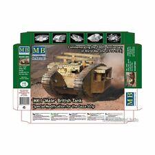 Master Box Model Kit - MKI Male British Gaza Strip Tank