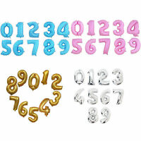 "40"" Giant Number Foil Helium Large Balloons Decor Birthday Party Room Wedding"