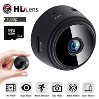 HD 1080P Mini Hidden Spy Camera Wifi Wireless IP Home Security DVR Night Vision