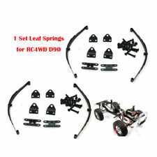 1 Set 1/10 Rock Crawler Steel Leaf Spring Suspension for RC4WD TF2 D90 RC Cars