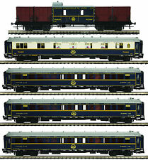 "MTH Orient Express Add-on 5-Car Passenger Set for 3 Rail ""O"" Gauge 20-60022"