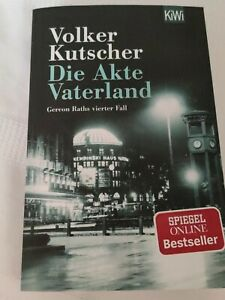 Die Akte Vaterland von Volker Kutscher (2014, Taschenbuch)