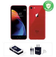 Apple iPhone 8, 64GB RED, Fully Unlocked (CDMA+GSM)