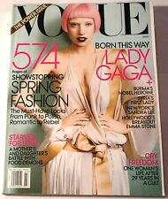 VOGUE March 2011 LADY GAGA Bright Clean Copy Issue