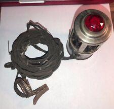 Jeweled Lamp /  Lite Vintage Original Auto Mounting Part Antique